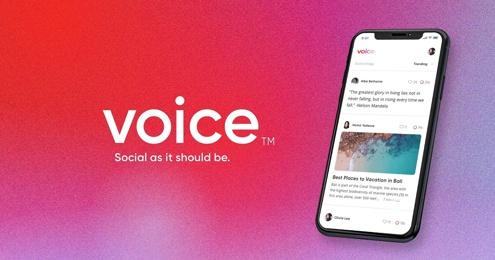 Block.one запустили социальную есть Voice на день раньше