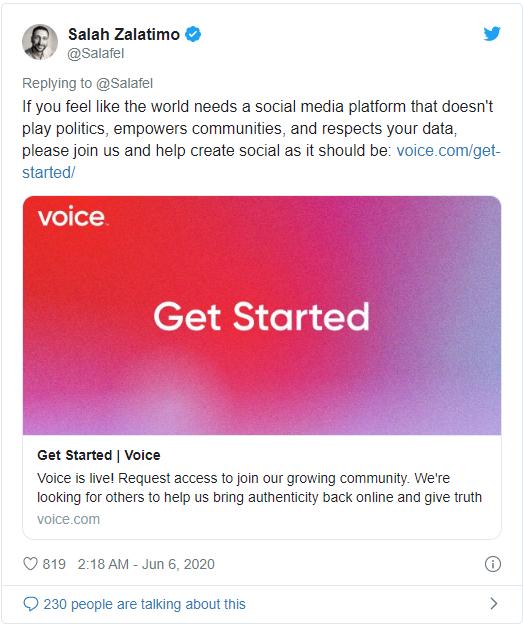 Что стоит ждать от соц. сети Voice от разработчиков EOS