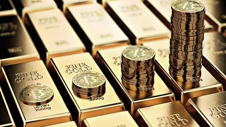 Капитализация биткоина достигла 1,62% от совокупной рыночной стоимости золота