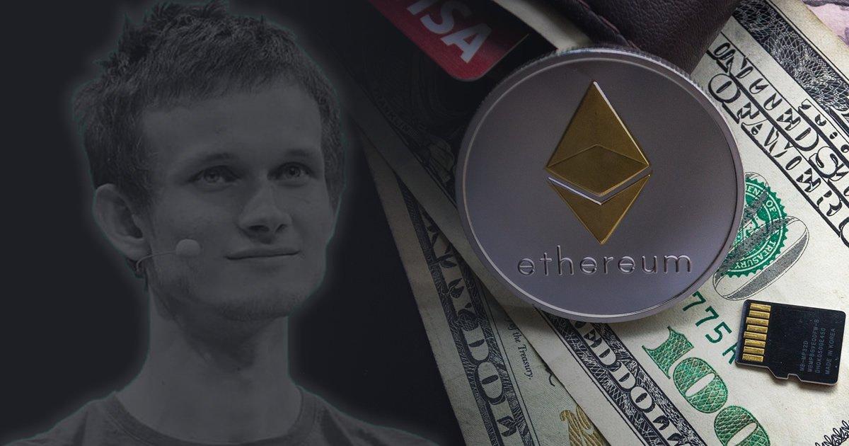 Виталик Бутерин раскрыл цену продажи своих запасов Ethereum