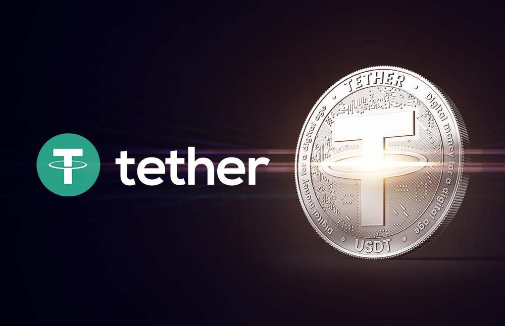 Tether поднимается на третье место по капитализации. XRP падает вниз